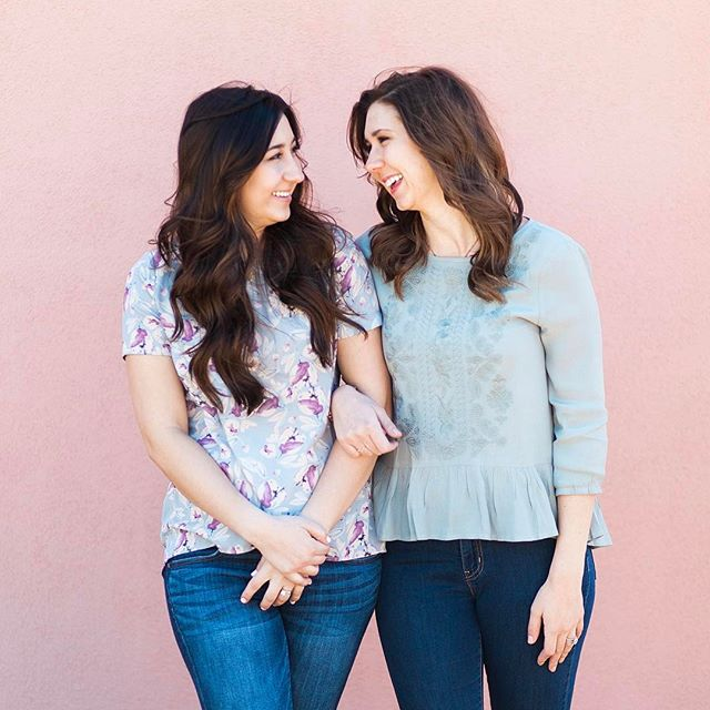 Yesterday was National Sibling Day! A day late, no surprise there... We're so lucky to be sisters AND partners in crime 👊🏼👯#nationalsiblingday #sisters #nottwins #wecouldbethough #girlboss