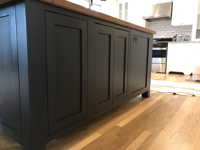Custom Cabinetry for the Island