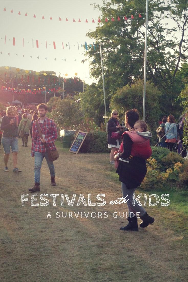 festivals with kids survivors guide