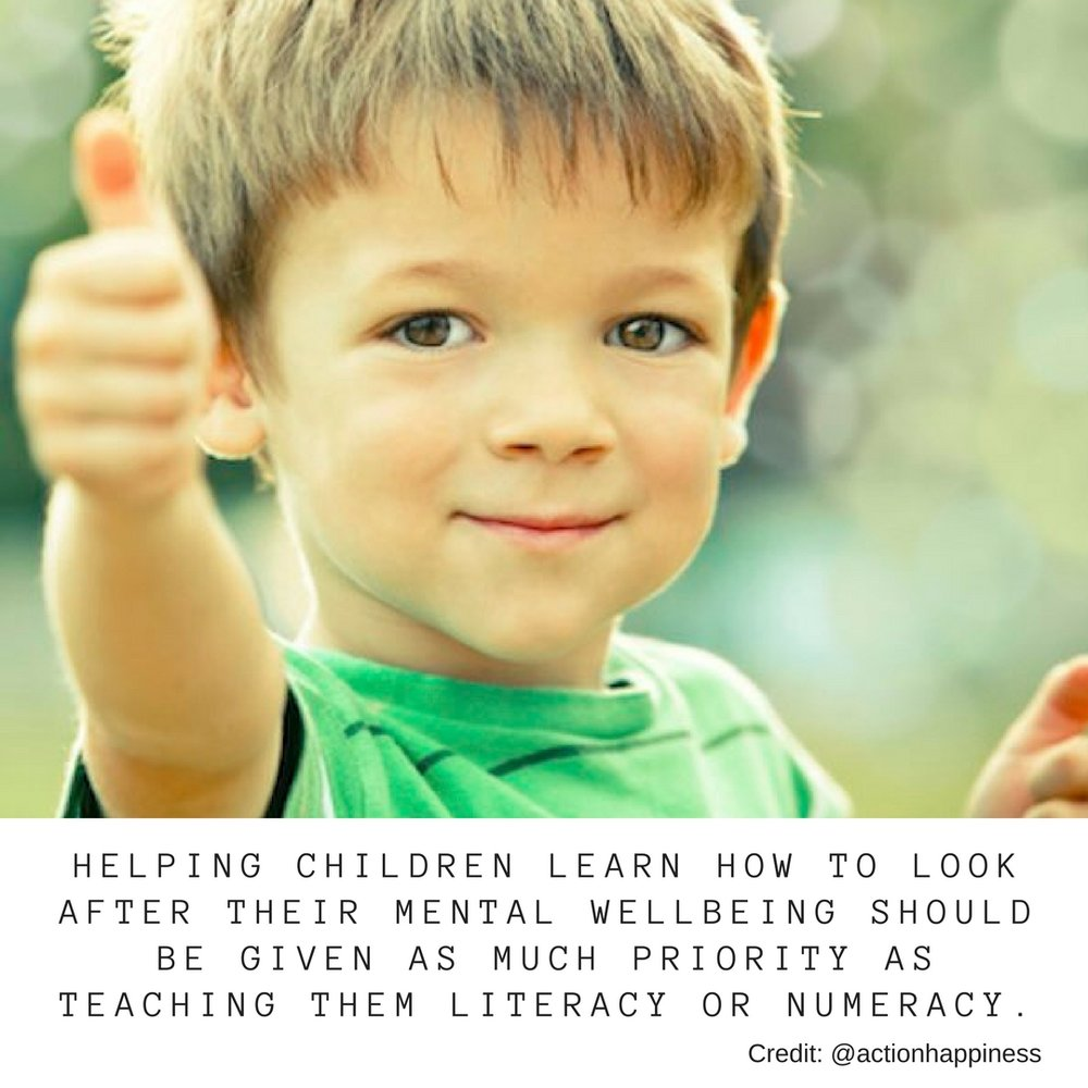 Helping children learn how to look after their mental wellbeing should be given as much priority as teaching them literacy or numeracy.jpg