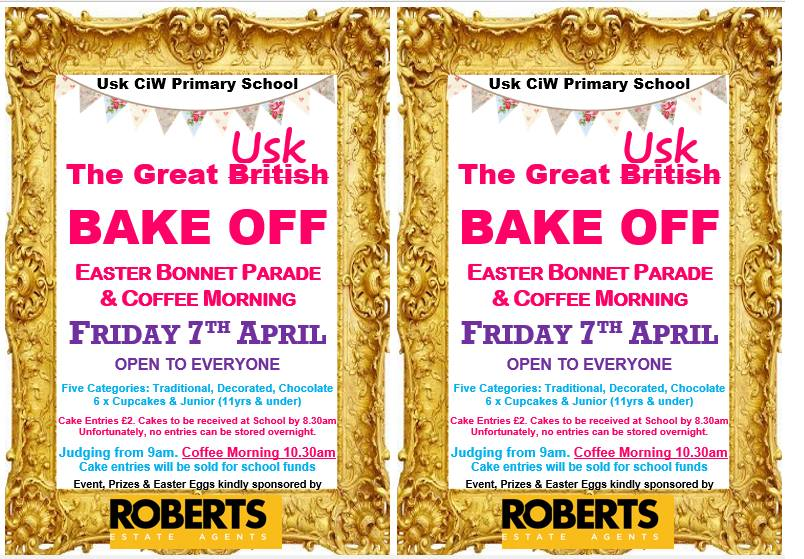 The Great Usk Bake Off! Easter Bonnet Parade & Coffee Morning at Usk Primary School.jpg
