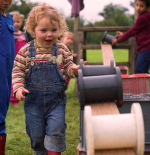 Wild Tots Abergavenny outdoor unstructured free play