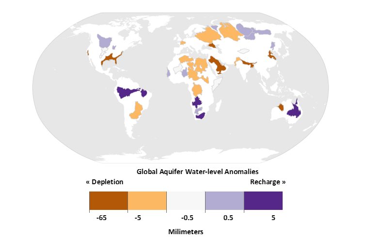 Global Aquifer Depletion 2018