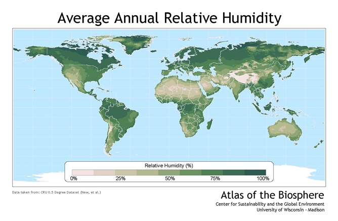 Relative Humidity Worldwide.png