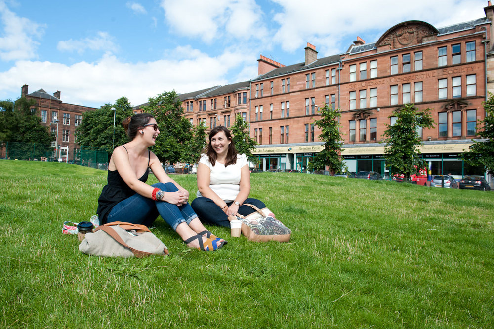 Partick Housing Association Promotional Photograph