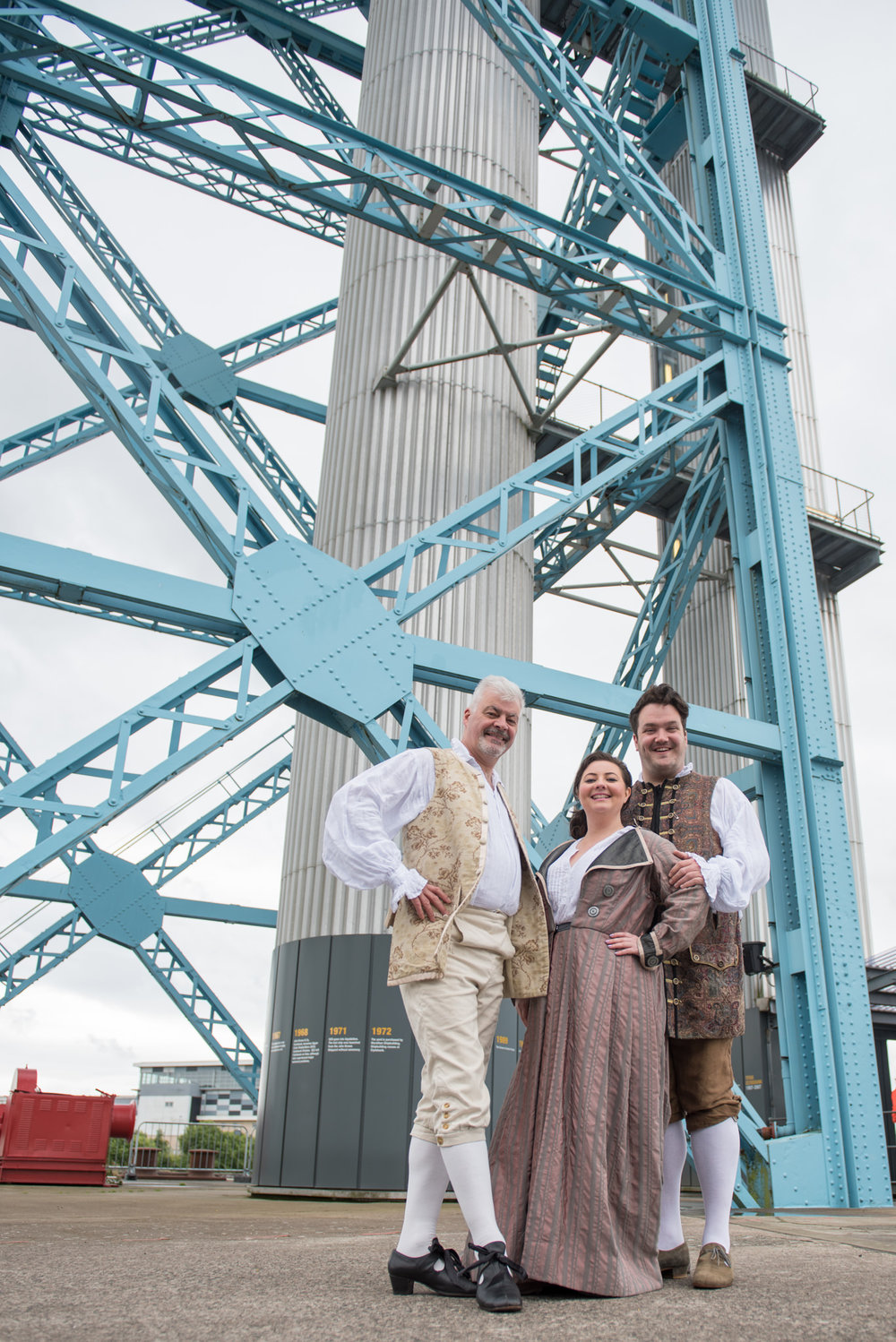 Scottish Opera - Pop-up at Titan Crane - Clydebank - 20 June 2016 © Julie Broadfoot/Photography by Juliebee
