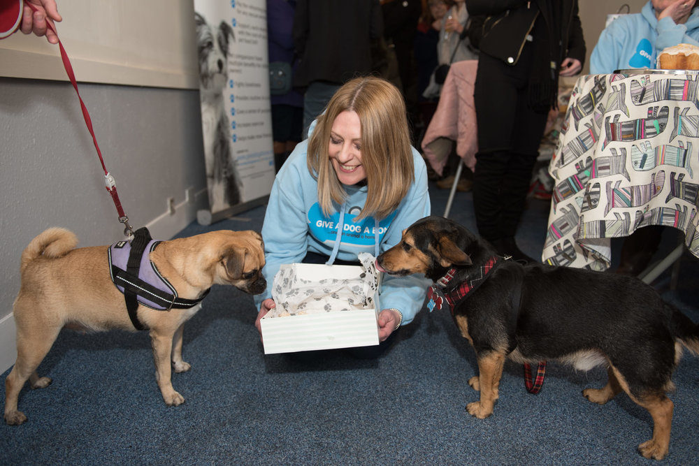 Nicola Sturgeon at Give a Dog a Bone - charity community space opening - Glasgow 19 January 2018