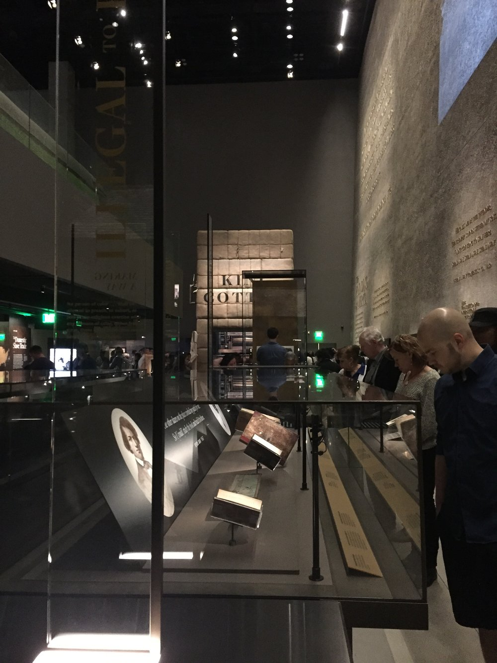 A view of the first floor of the History Galleries