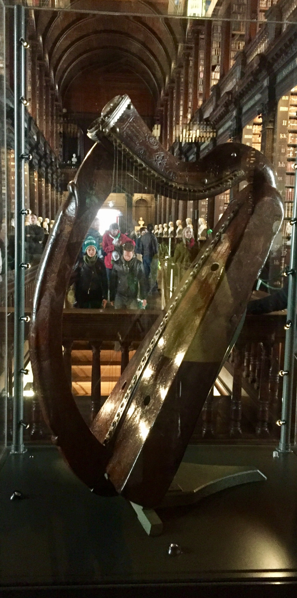 This is the Celtic harp, or Clarsach.