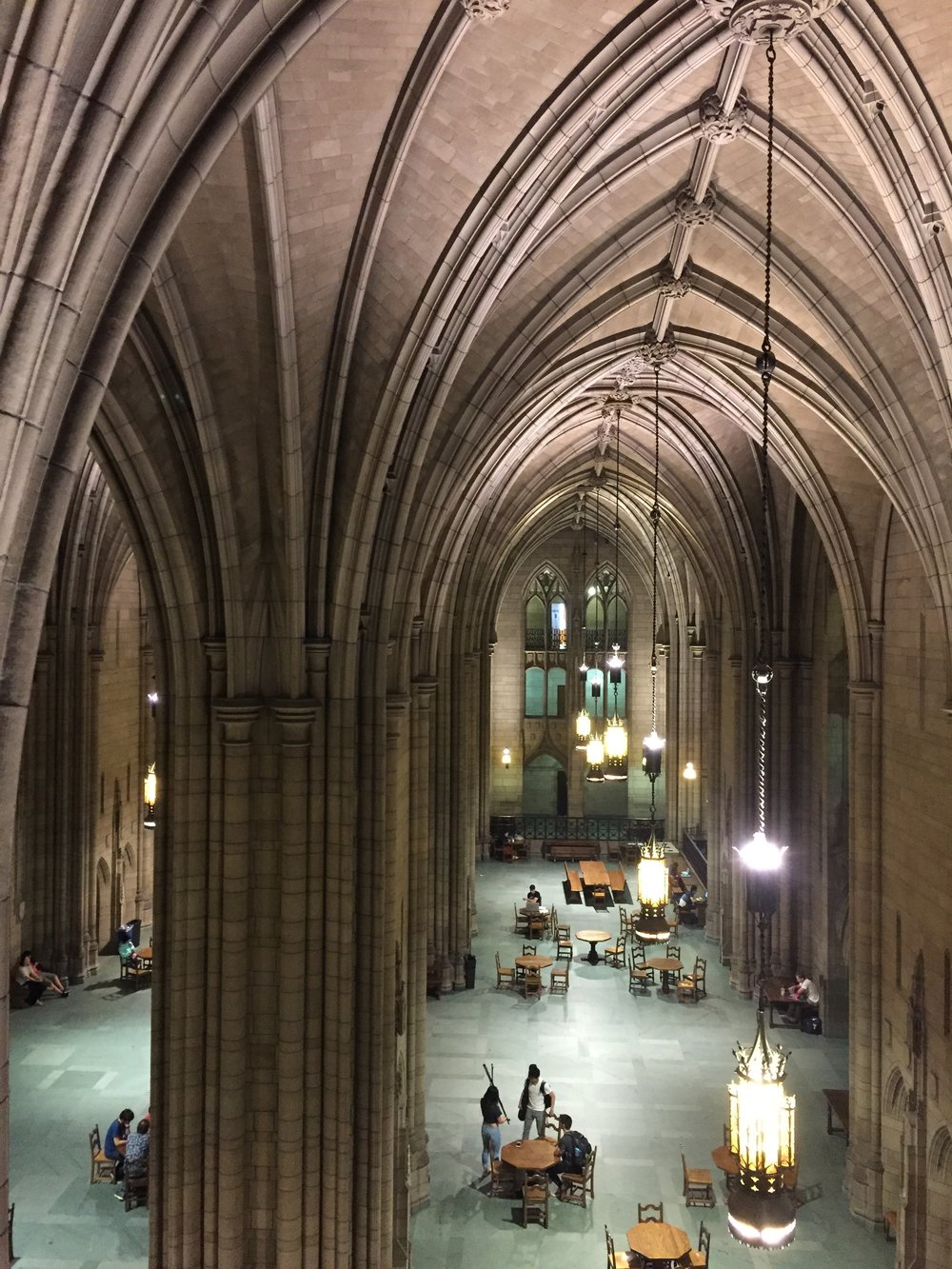 Interior of the Cathedral of Learning