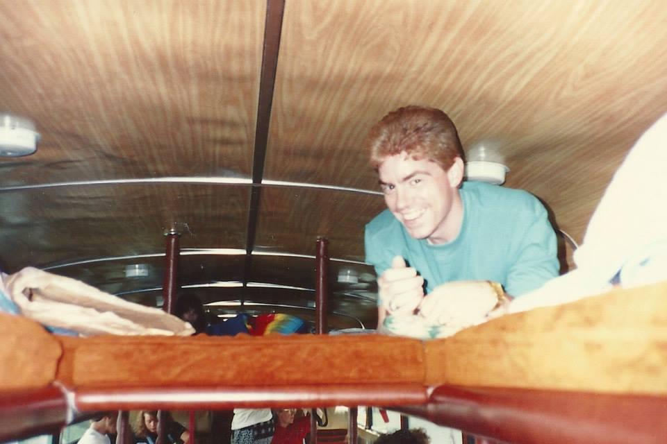 Howard Thomas Fraley, circa 1990. Sorry, Dad. Had to.