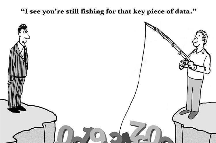 fishing for enterprise data comic