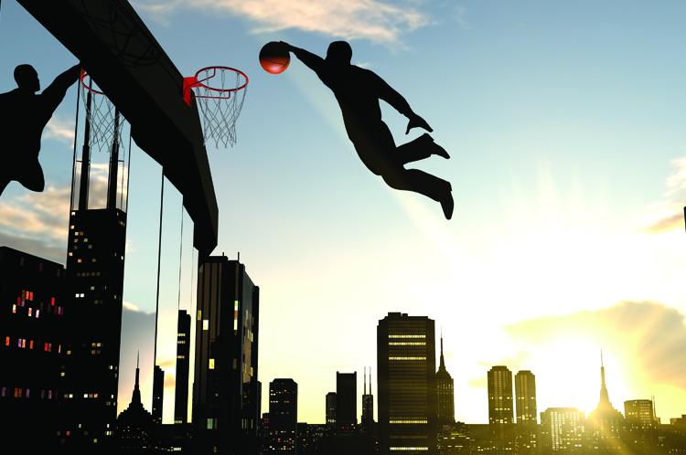 Contract AI Slam Dunk Basket Ball