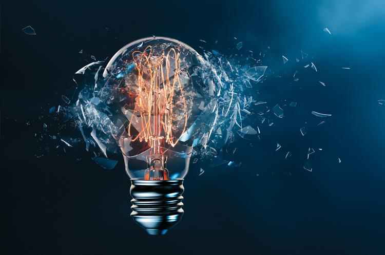 Enterprise AI Broken Lightbulb