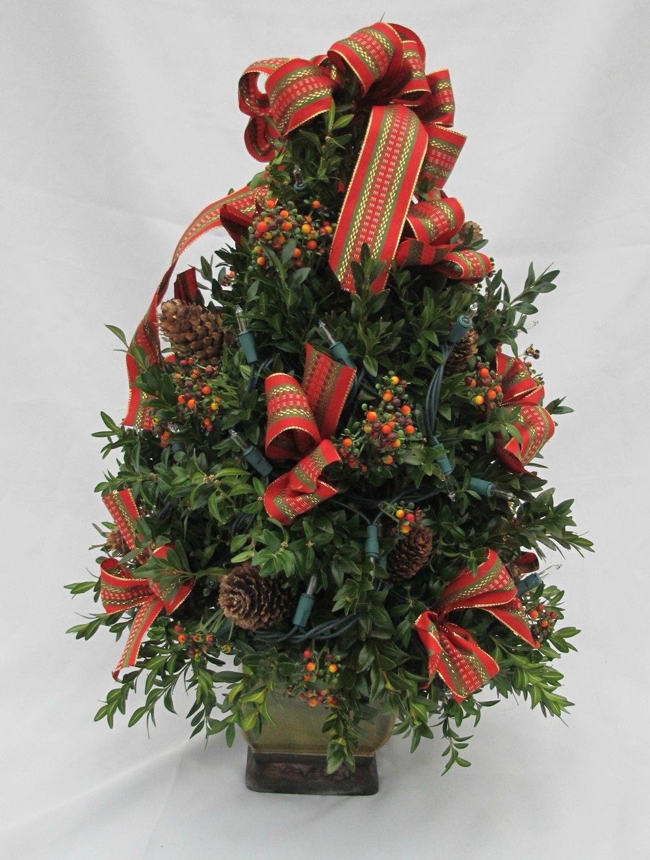 B-Boxwood tree red and green ribbon.jpg