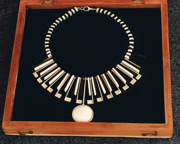 Ebony & Ivory Necklace