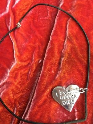 Love Never Dies Neckpiece. Emma Macchiarini
