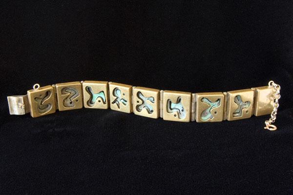 Layered Link Bracelet
