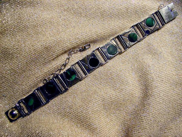 Reversible Dot Link Bracelet #3