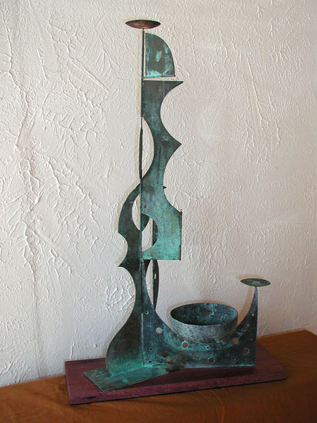 Standing Abstract Sculpture
