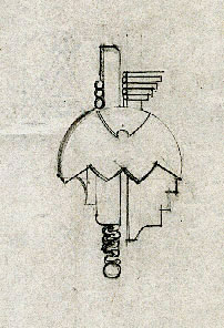 Pendant Technical Drawing
