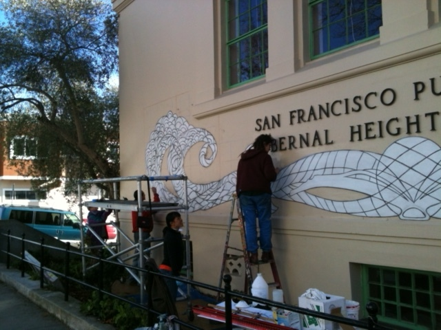 Bernal Library Art Project