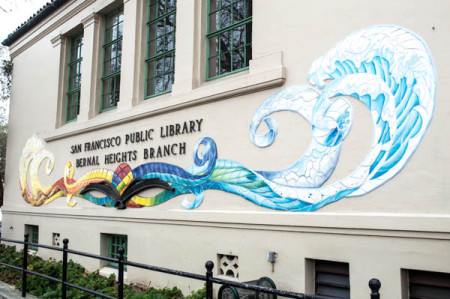 Bernal Library Art Project