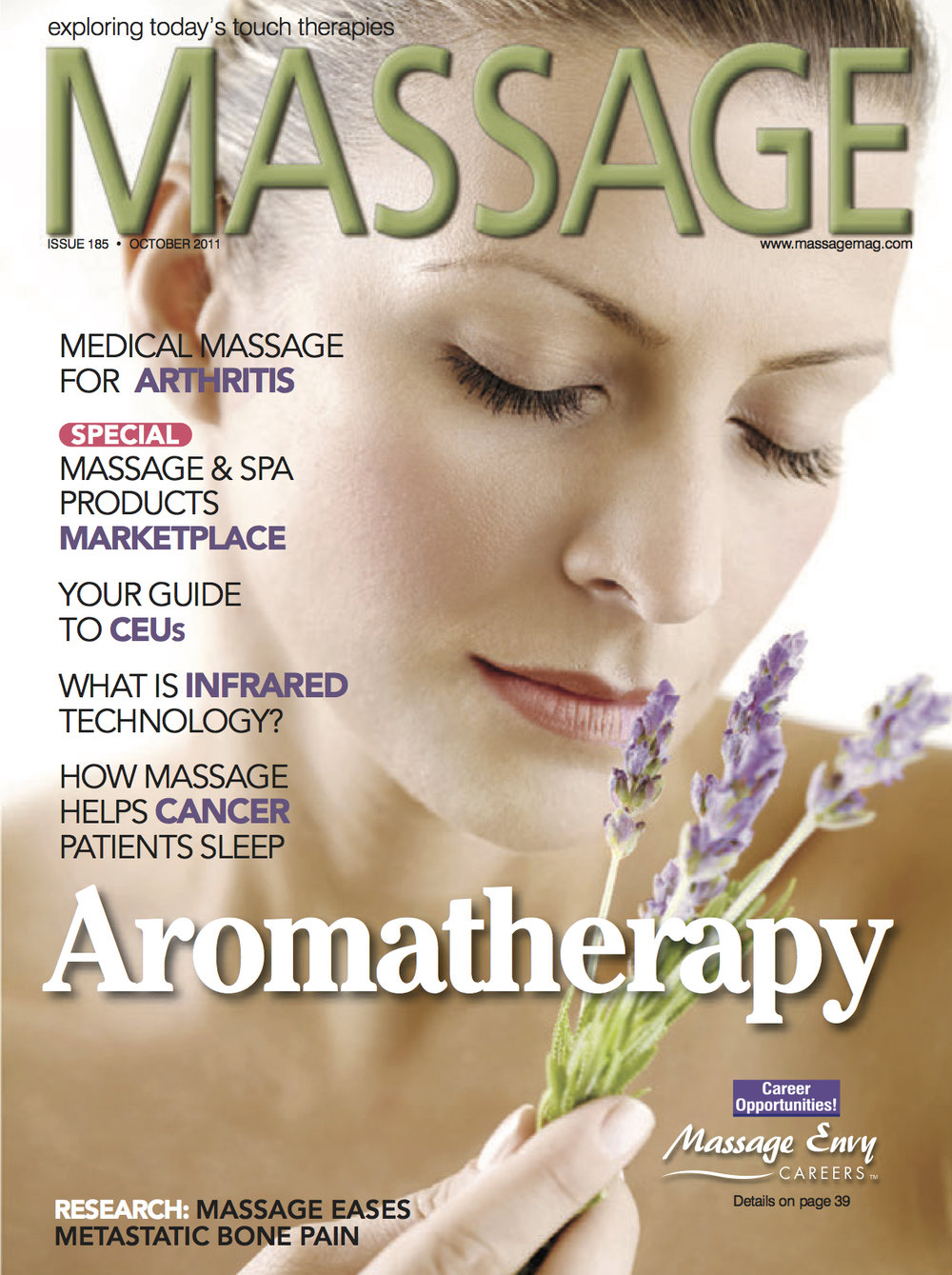 Massage Magazine - October / November 2011