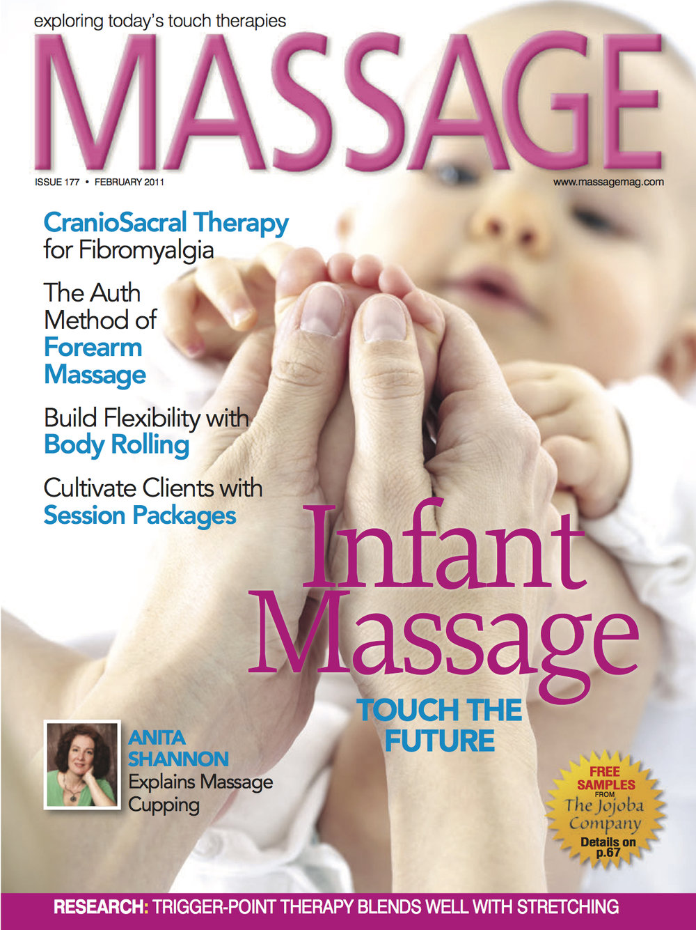 Massage Magazine - February 2011
