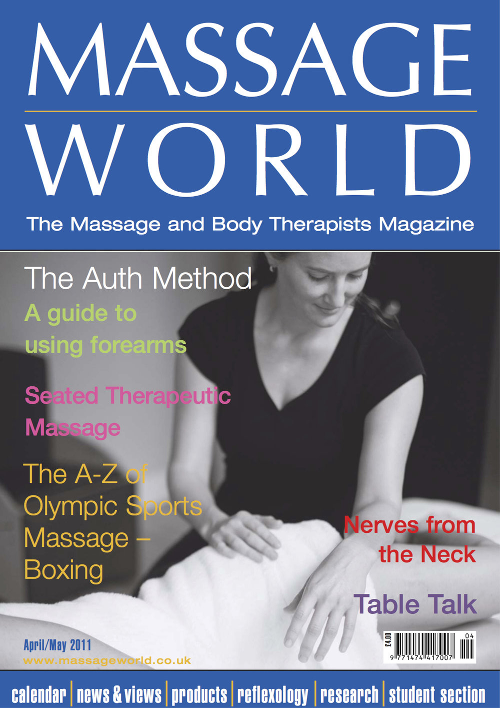 Massage World - April / May 2011