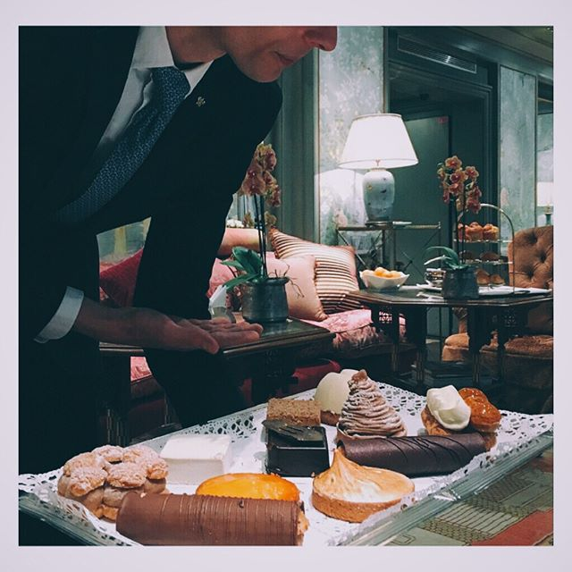 ...and here was some of the spread #teatime #hoteldaniel #teatotaler #paris #tea #sweets