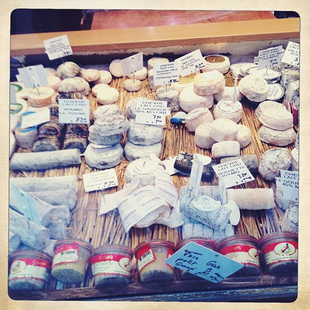Cheese gathering somewhere between #montmartre and #marais. My simplest and most content moments in Paris were often with a spoon of honey and some cheese at the end of a day :). paris #parisian #pariseats #foodie #cheese