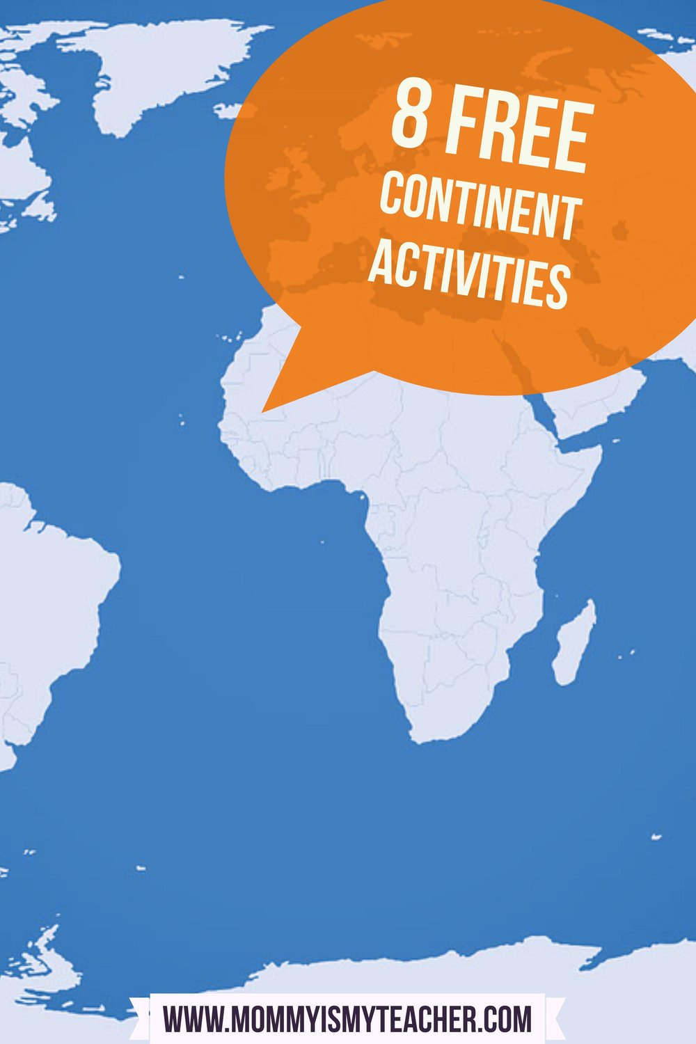 8 Free Activities To Teach Your Children The Continents Mommy Is