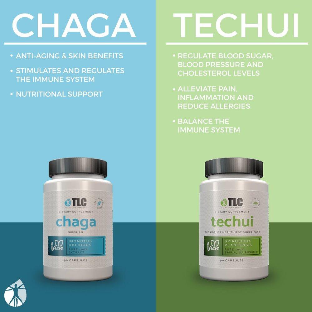 chaga & techui   all natural supplements