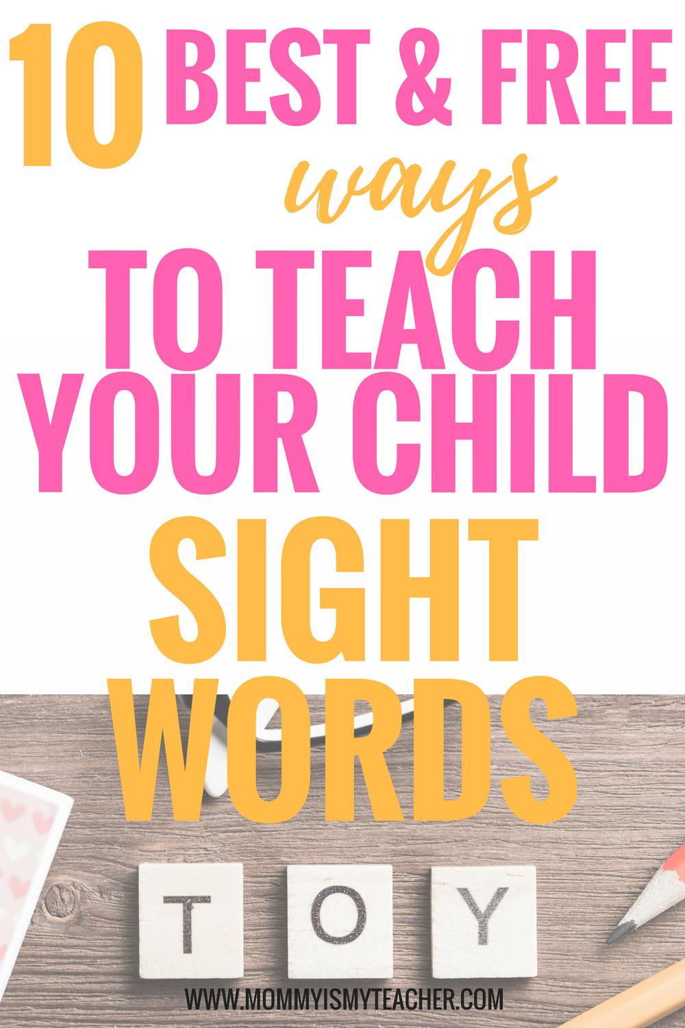 wow I love this list of the best free and fun sight word activities for preschool and kindergarten! My son will love this! saving for later.