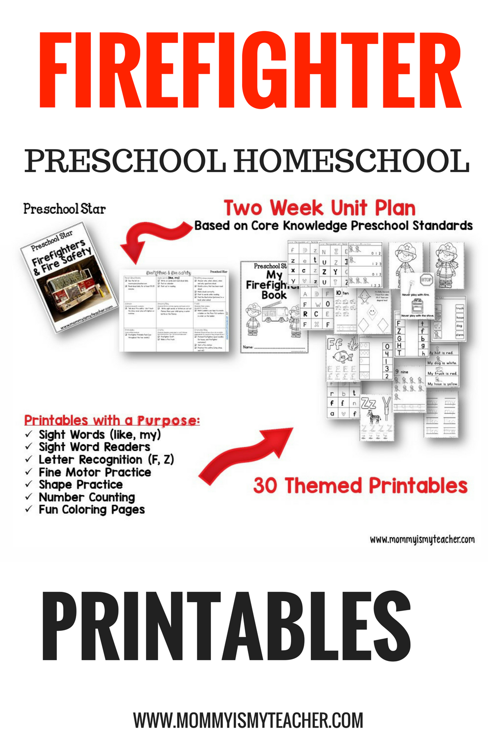 firefighter preschool kindergarten homeschool printables.png