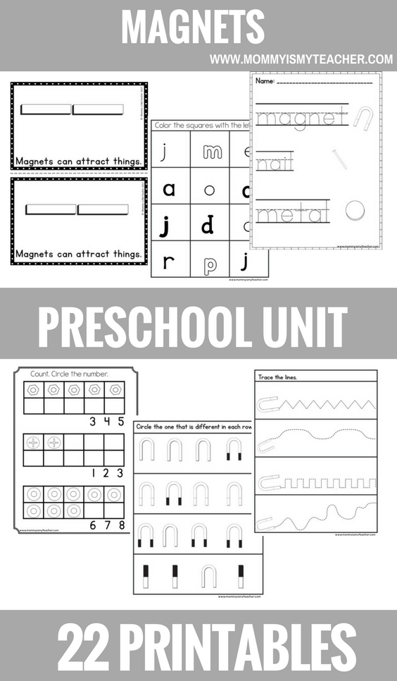 MAGNETS PRESCHOOL THEME UNIT PRINTABLES.png