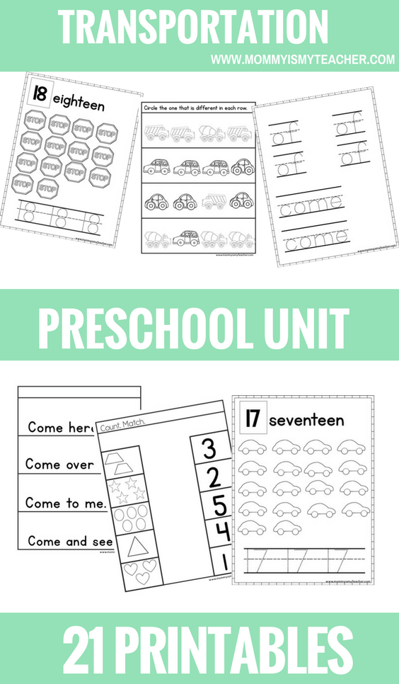 Transportation PRESCHOOL THEME UNIT PRINTABLES.png