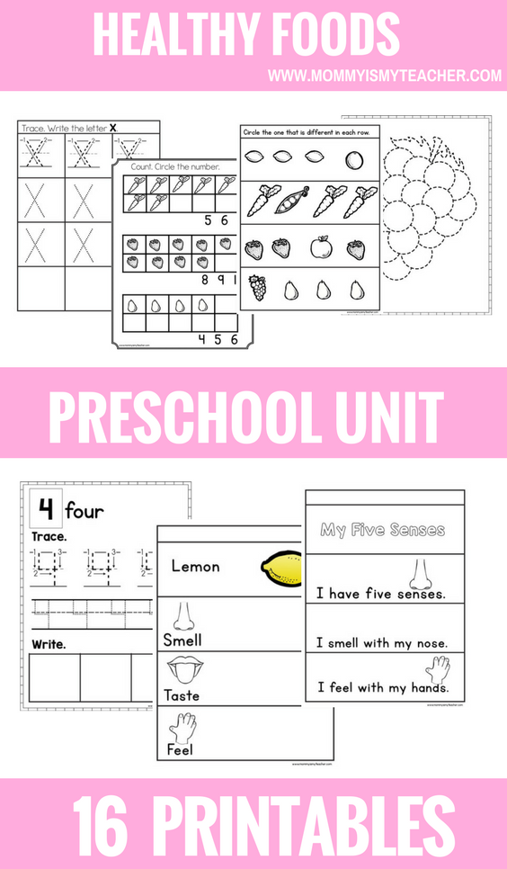Healthy Foods PRESCHOOL THEME UNIT PRINTABLES.png