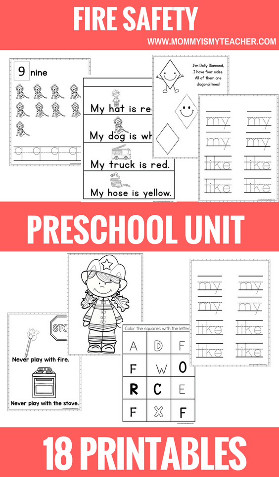 fire safety preschool theme unit.png