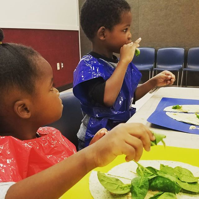 Tasting a sample in cooking class.. what extracurricular activities do your preschoolers attend,
