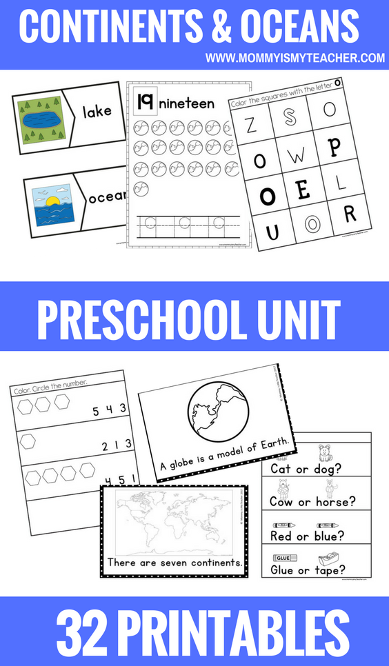 CONTINENTS AND OCEANS PRESCHOOL THEME UNIT PRINTABLES.png