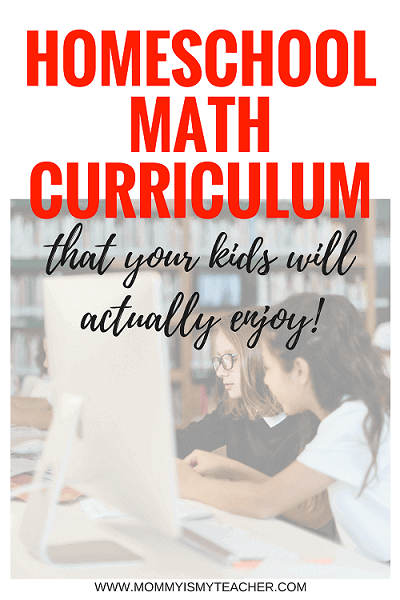 Wow, I love this homeschool math curriculum! These math activities are perfect for homeschool curriculum!