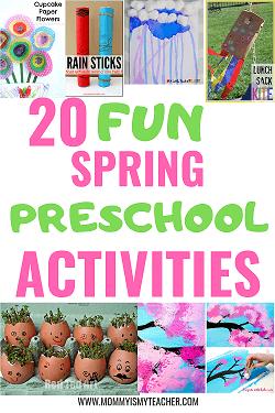 Wow, I love these fun spring preschool activities. These preschool art activities are great for my preschool homeschool curriculum! Pinning for later!