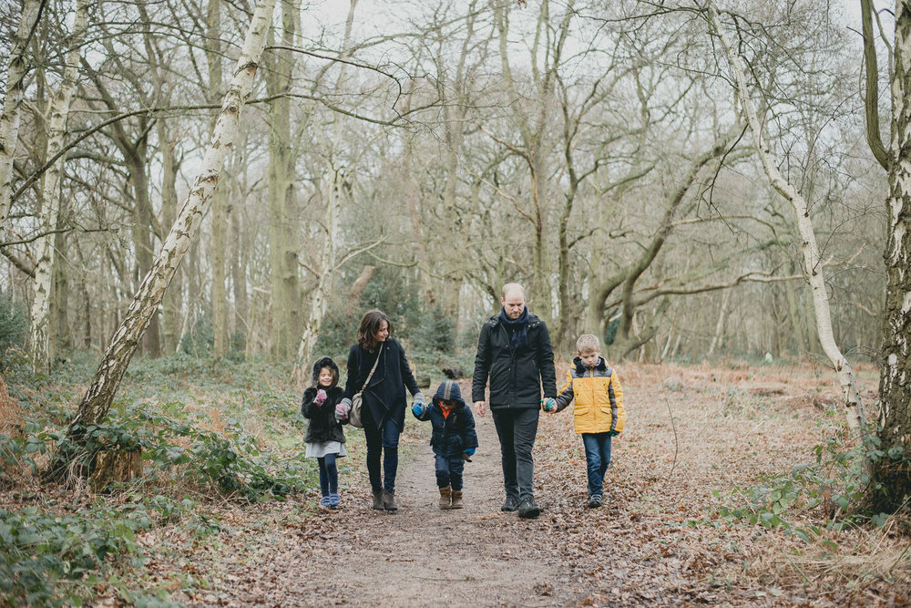 Family photoshoot, Wimbledon Common