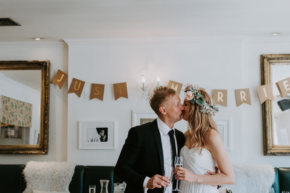 Intimate Wedding Photographer in Surrey