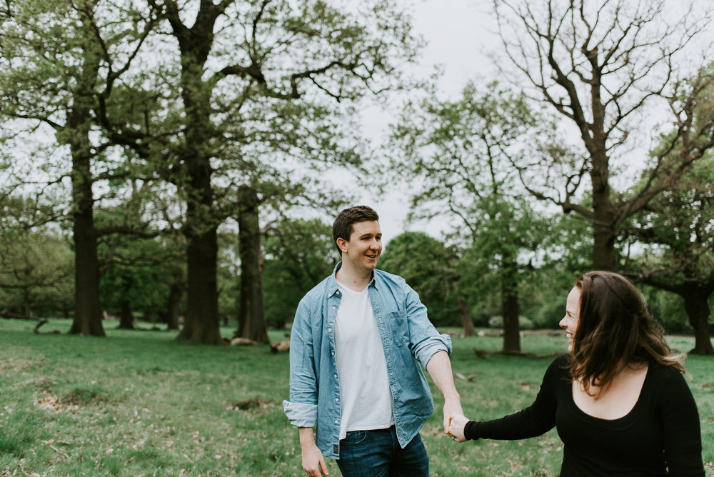 Engagement Session Richmond Park