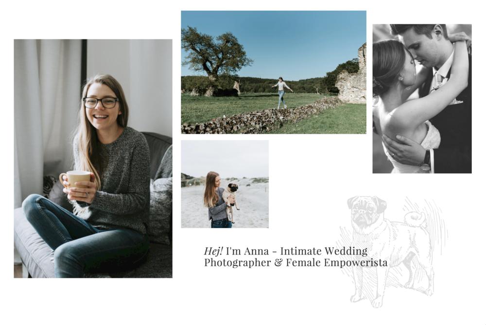 Intimate wedding photographer surrey
