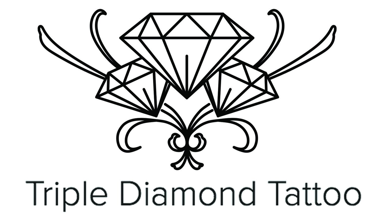 Triple Diamond Tattoo