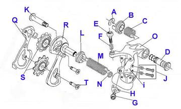 Rear Derailleur Diagram Free Wiring Diagram For You